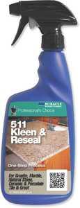Miracle Sealants Company KL_RE_32 oz _6/1 Professional's Choice 511 Kleen & Reseal 32 oz