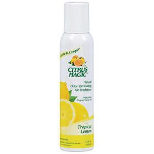 Beaumont Products Inc 612112748 Citrus Magic Air Freshener Tropical Lemon 3.5 Oz