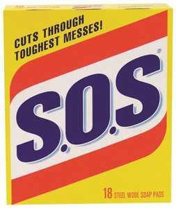 Clorox Co. 98018 Sos Soap Pad 18 Ct