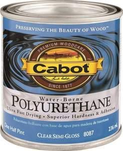 Cabot 8087 1/2-Pint Interior Semi-Gloss Water-Borne Polyurethane