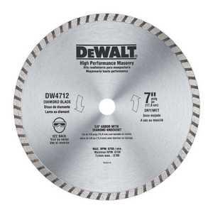 DeWalt DW4712B 7 in Hi-Performance Blade