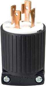 Cooper Wiring L1430P 4wire Ground Locking Plug