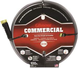 Gilmour 29-58100 5/8-Inch X 100-Foot 6-Ply Commercial Hose