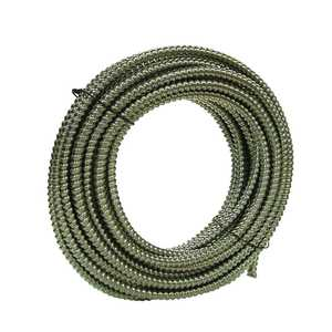 Southwire 55082321 3/4 In X25 Ft Alflex Reduced Wall Aluminum Flexible Metal Conduit