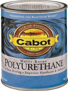 Cabot 8082 Interior Water-Borne Polyurethane Clear