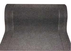 WJ Dennis HDG0027 Charcoal Floor Runner Mat 26 In Wide, Per Foot