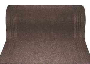 WJ Dennis HTA0027 Taupe Floor Runner Mat 26 In Wide, Per Foot