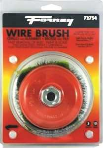 Forney Industries 72754 Crimped Wire Cup Brush 5 In