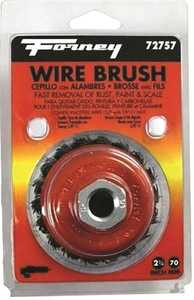 Forney Industries 72757 2-3/4-Inch Knotted Wire Cup Brush