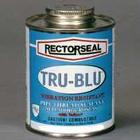 Rectorseal Corp 31631 Tru-Blu Pipe Sealant 4 oz