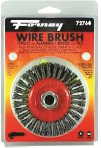 Forney Industries 72760 Stringer Wire Wheel Brush 4 In