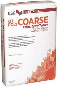 US Gypsum 540790 Sheetrock Ceiling Texture Spray-On 40 Lb