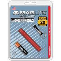 Mag Instrument K3A036 Red Aaa Solitaire Flashlight