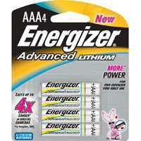 Energizer Battery 1582832 Energizer Advancd Lith Aaa 4pk
