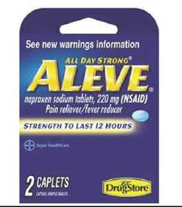 Lil Drug Store 20-366715-97022-4 Aleve Trail Pain Relief Caplet