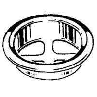 Plumb Pak PP820-45 Laundry Tub Strainer Basket