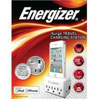 Premier Accessory Group ENG-SPMFI2 Iphone Travel Chrg Station White