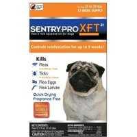 Sergeant's Pet 0197665 Flea &tick Dog 21-39lb Sen Pro