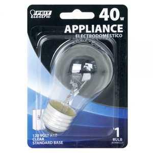 Feit Electric BP40A15/CL 40-Watt Incandescent A15