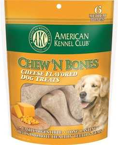 PET BRANDS, INC. AKD043 Cheese Flavor Dog Treat
