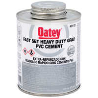 Oatey 31121 16 oz Lovoc Pvc Gray Fs Cement