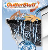 Tjm Innovations GS-K5 5 in x4 ft Gutterstuff Foamfilter