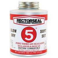 Rectorseal Corp 25551 8 oz #5 Pipe Thread Sealant