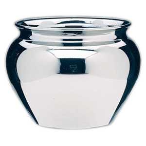 Orgill Inc 31-24-332 4-1/2-Inch Silver Jardiniere Vase