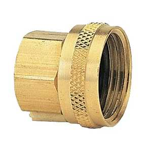 Gilmour 5FPS7FH 1/2-Inch X 3/4-Inch Brass Double Female Hose Connector