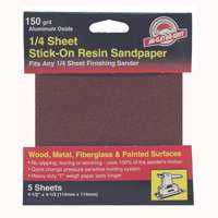 Ali Industries 4073 150grit Psa 1/4 Sheet 5pk