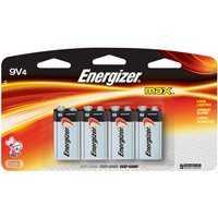 Energizer Battery 522BP-4H Energizer Max Alkaline 9v 4pk