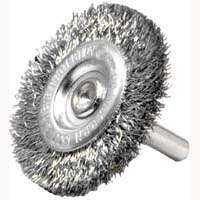 Weiler Corporation 36413 3 in Crimp Wheel Brush Coarse