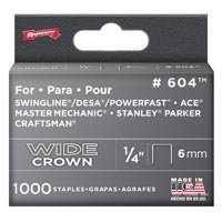 Arrow Fastener Co 60430 1/4 in Wide Heavy Duty Staples 1000/Bx