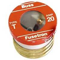 Bussmann Fuses BP/T-20 Plug Fuse Heavy Duty Edison Base 20a
