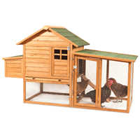 Doskocil Manufacturing 4706073 Coop Chicken Peak Roof