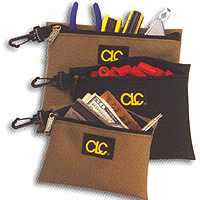 Custom Leathercraft 1100 Clip-On Zippered Tool Bag