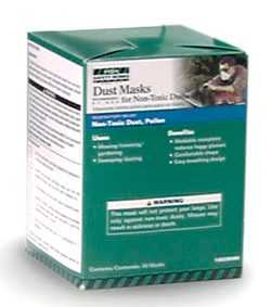 Msa Safety Works 10028568 Non-Toxic Dust Mask 50-Pack
