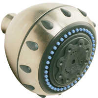 Plumb Pak 5004510 Shower Head 5 Func Brushed Nic