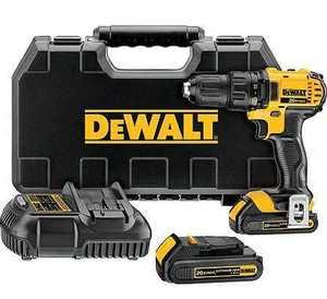 DeWalt DCD780C2 20v Max Li-Ion Drill/Driver Kt