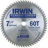 Irwin 15530 7-1/4 in 60tht Circular Blade