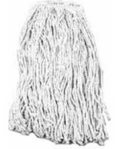 Chickasaw & Little Rock Broom Works 00557 24 oz Twine Janitorial Wet Mop Head