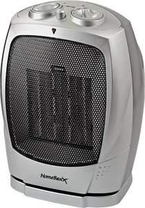 Homebasix PTC-903B 750/1500-Watt Ceramic Oscillating Heater