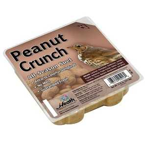HEATH MFG DD-18 All Season Peanut Crunch Suet 11 oz