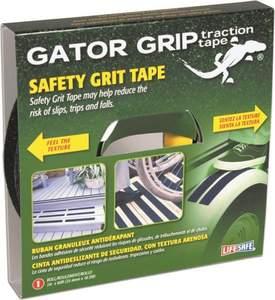 Gator Grip RE141 1-Inch X 60-Foot Black Gator Grip Safety Grit Tape