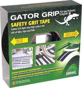 Gator Grip RE142 2-Inch X 60-Foot Black Gator Grip Safety Grit Tape