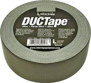 Intertape 20C-OD2 DUCTape 1.87-Inch X 60-Yard Olive Duct Tape