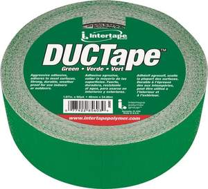 Intertape 20C-GR2 DUCTape 1.87-Inch X 60-Yard Green Duct Tape