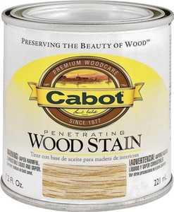 Cabot 8132 Interior Penetrating Wood Stain Flat Ebony
