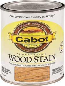 Cabot 8130 Interior Penetrating Wood Stain Flat Walnut