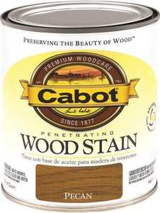 Cabot 8127 Interior Penetrating Wood Stain Flat Pecan